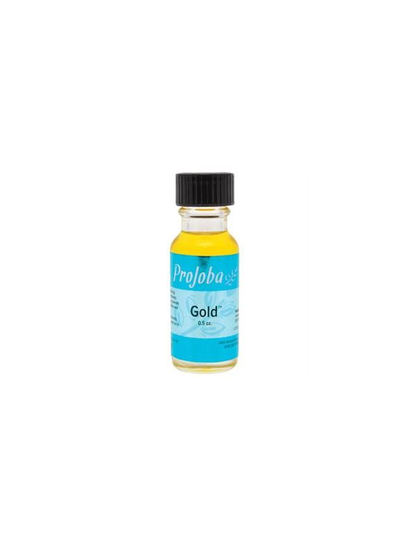 Gold - 100% Pure Jojoba Oil - 0.5 oz.