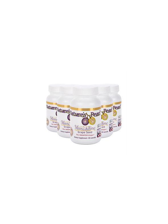 Premium Muscadine Grape Seed (5 Ct)