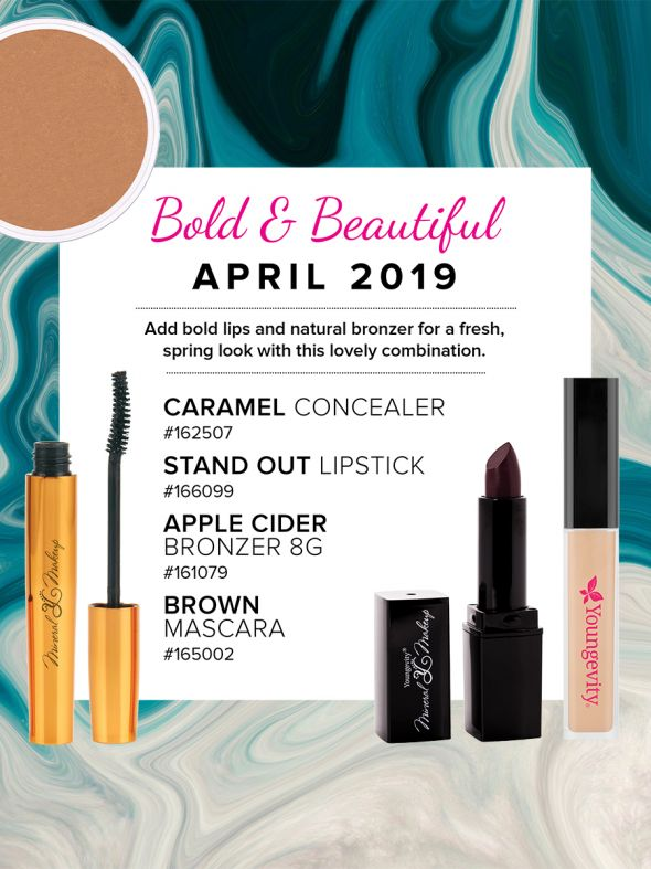 Mineral Makeup of the Month Club - April 2019
