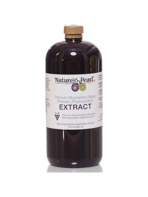 Nature's Pearl Premium Muscadine Extract 32oz
