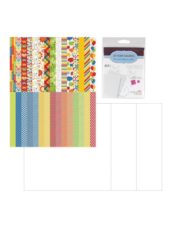 Colorful Accordion Album Kit